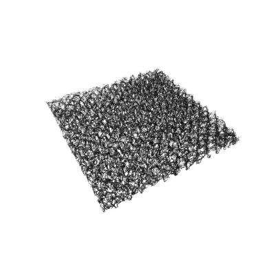 1 ft. x 1 ft. Black Raised Planter Aeration Pad