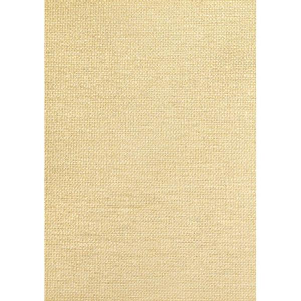The Wallpaper Company 72 sq. ft. Beige Weave Grasscloth Wallpaper