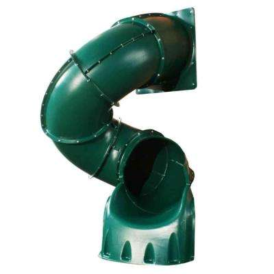 5 ft. Green Turbo Tube Slide