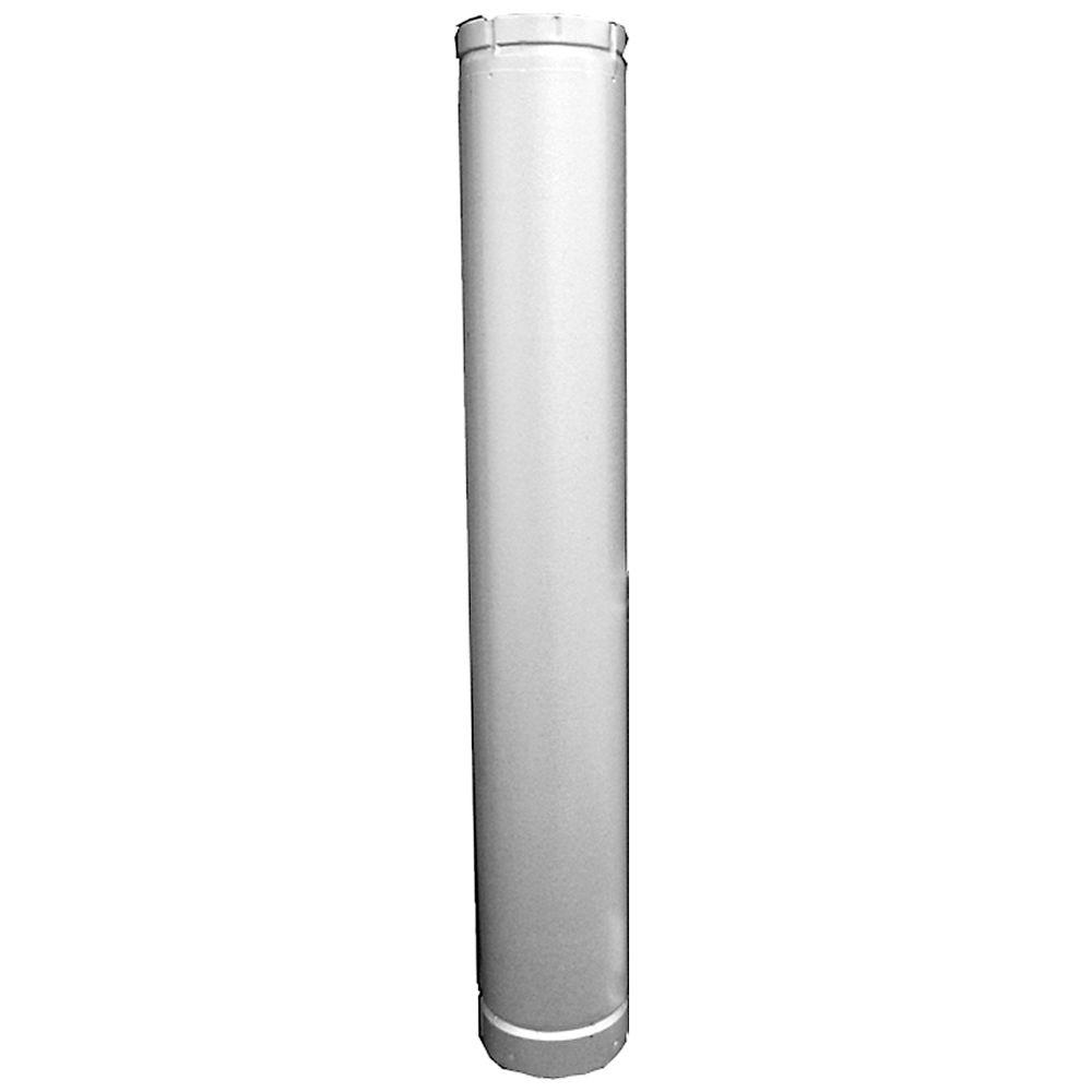 Speedi Products 4 In X 60 In B Vent Round Pipe Bv Rp 460 The Home Depot