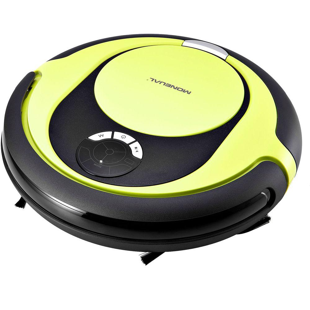 Moneual Hybrid Robot Vacuum and Dry Mop Cleaner