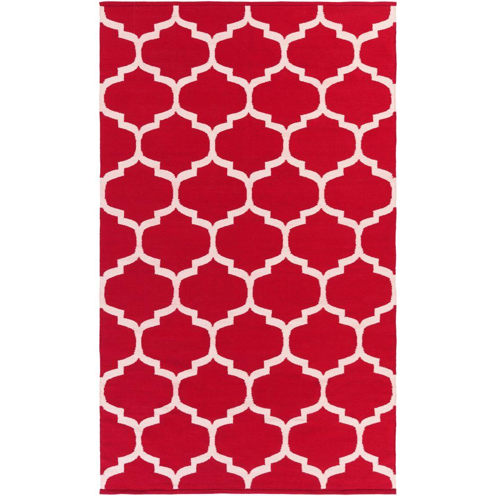 Vogue Everly Cherry 9 ft. x 12 ft. Indoor Area Rug