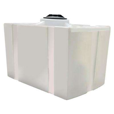 100 Gal. Portable Water Transport Tank with 3/4 in. PolyPro Outlet