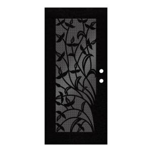 Unique Home Designs 36 inch x 80 inch Yale Black Left-Hand Surface Mount... by Unique Home Designs