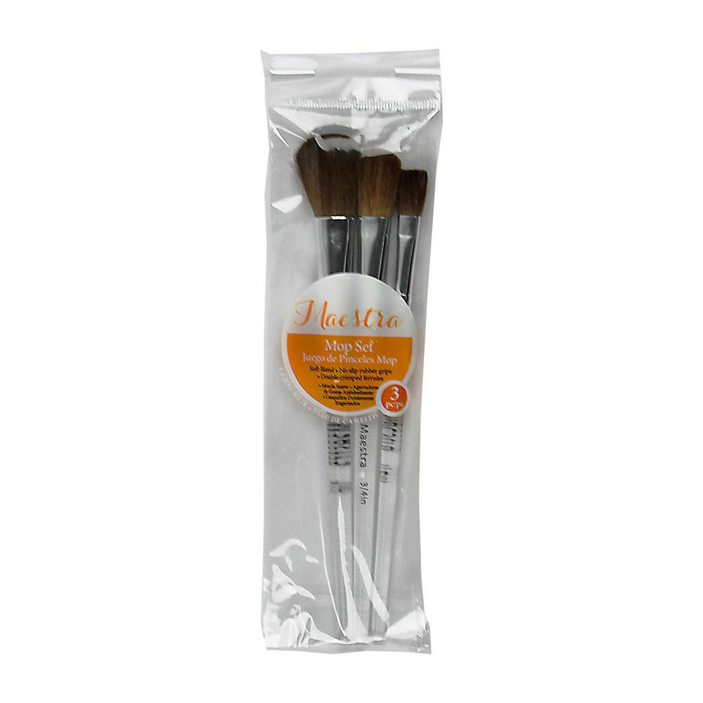 Artist Paint Brush Set (3-Piece)