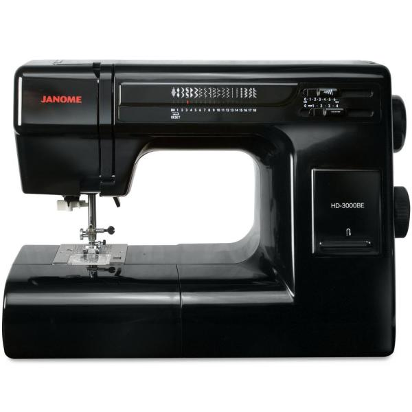 HD3000BE 18-Stitch Sewing Machine with Quilt Kit