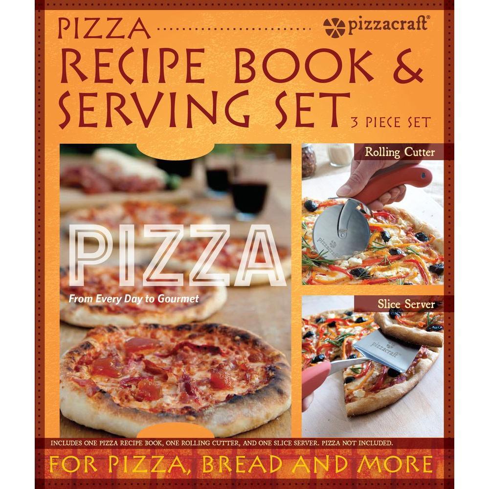 Charcoal Companion pizzacraft 2-Piece Pizza Serving Set a...