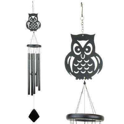 Owl Shadow Wind Chime
