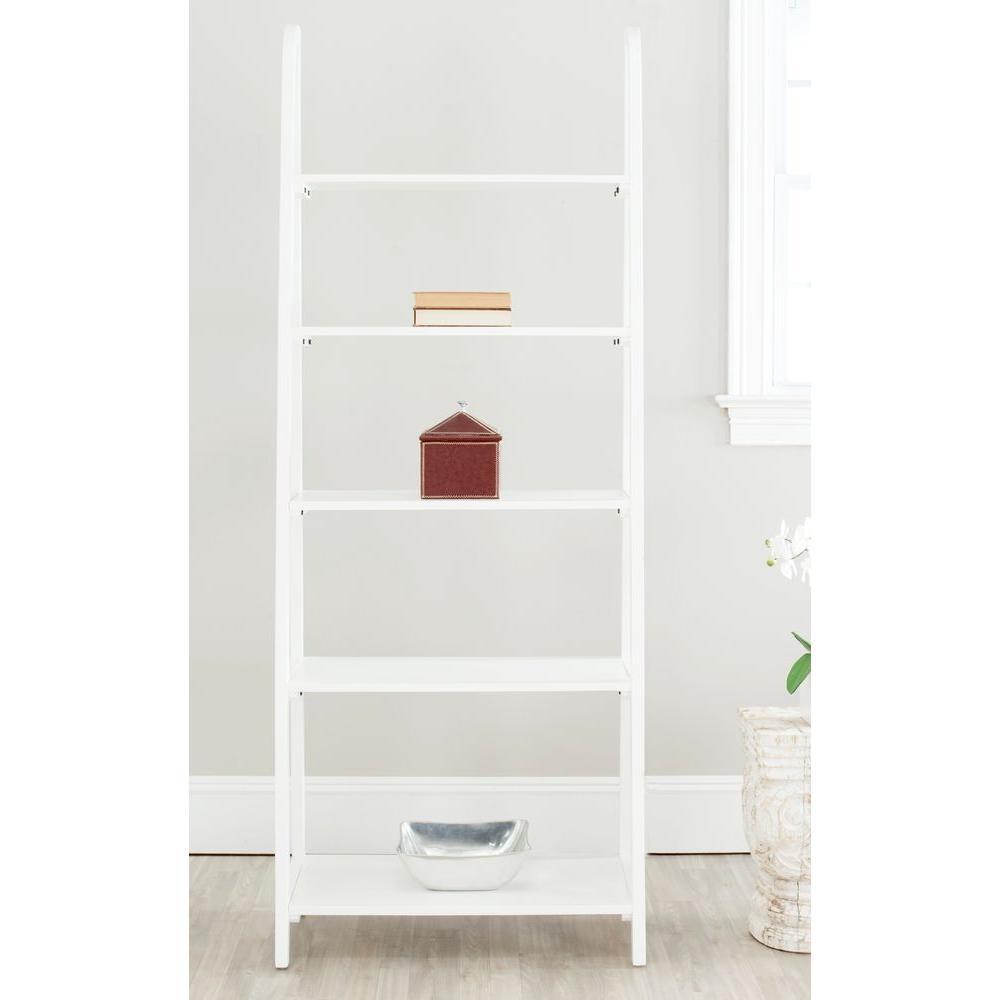 Albert 5-Tier White Etagere Shelf