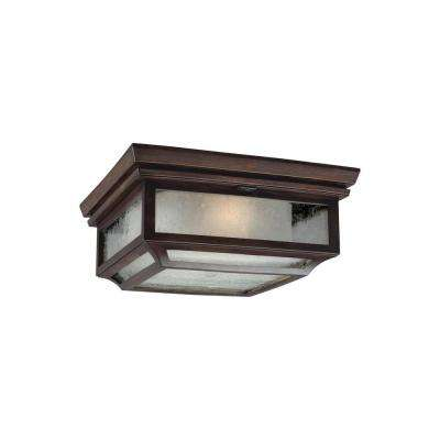 Shepherd 2-Light Heritage Copper Outdoor Ceiling Fixture