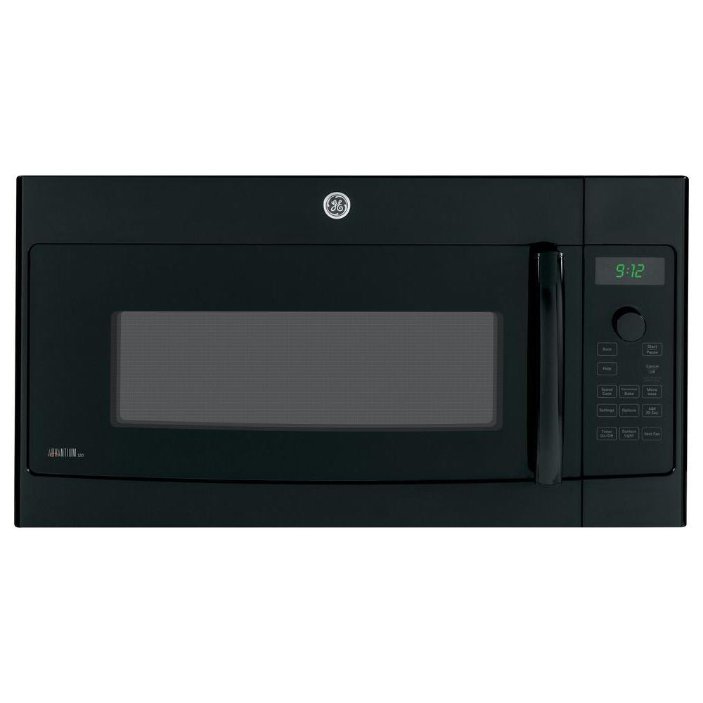 GE Profile Advantium 1.7 cu. ft. Over the Range Microwave in Black with Speedcook