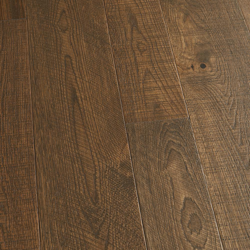 Malibu Wide Plank Take Home Sample French Oak Crystal Cove Tongue And Groove Engineered Hardwood Flooring 5 In. X 7 In.