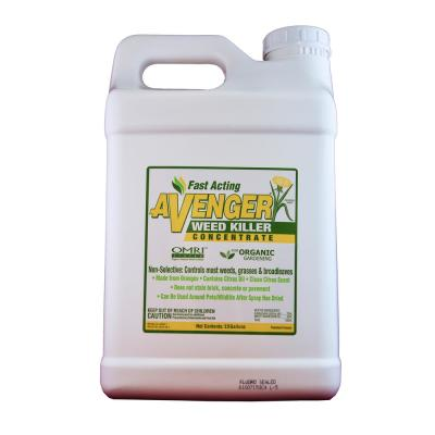 2.5 Gal. Organic Weed Killer Herbicide Concentrated
