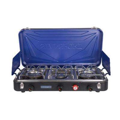 Outfitter Series 3-Burner Propane Stove Blue