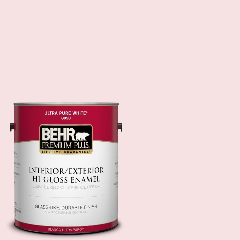 1-gal. #140A-1 Strawberry Yogurt Hi-Gloss Enamel Interior/Exterior Paint