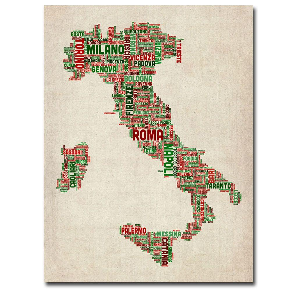 null 47 in. x 30 in. Italy I Canvas Art