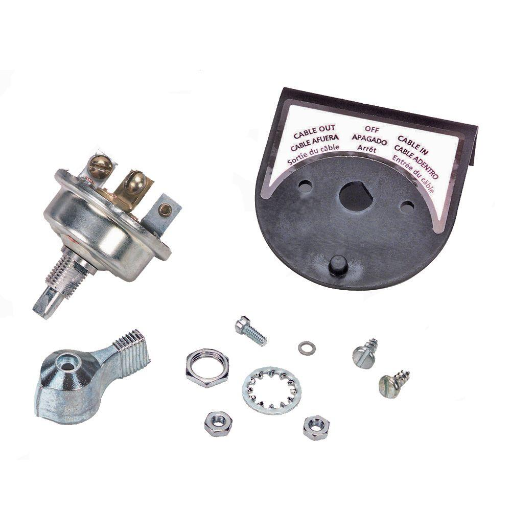Heavy-Duty 3-Position Rotary Switch Kit for EX1, X1, X2F, S2500, S3500