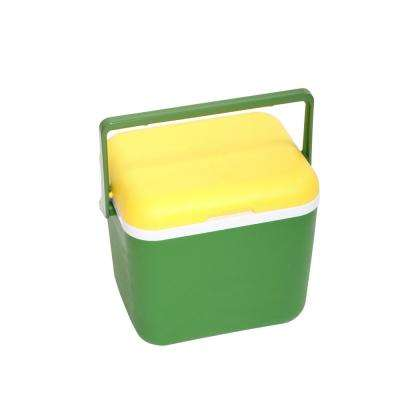 20 qt. Green and Yellow Cooler