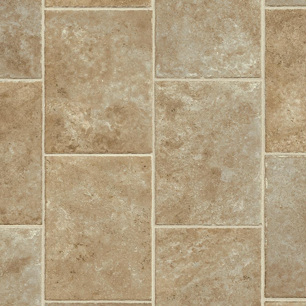 Take Home Sample - Brown Sugar Residential Vinyl Sheet Flooring - 6 in. x 9 in.