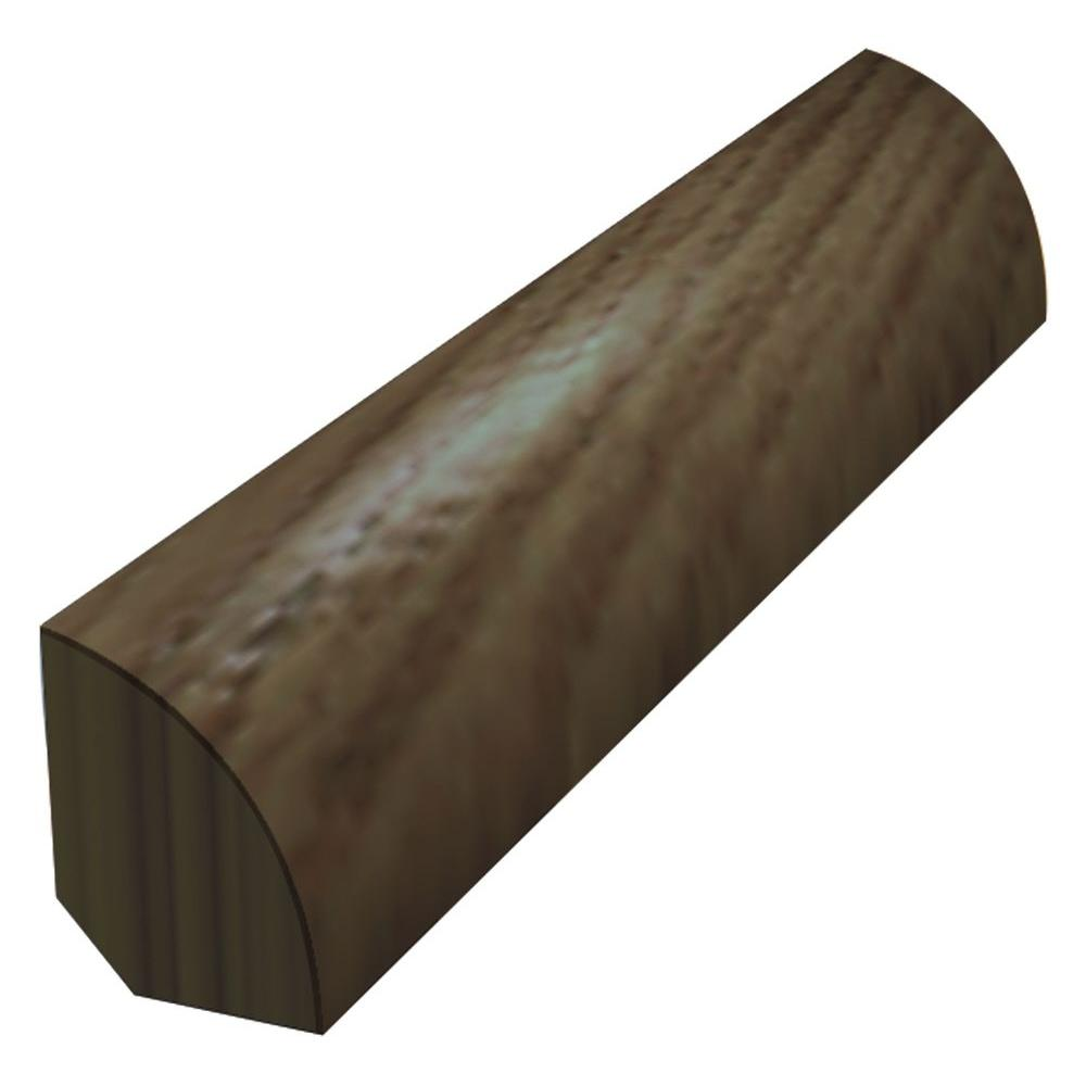 Chocolate Saddle 3/4 in. Thick x 3/4 in. Wide x 78