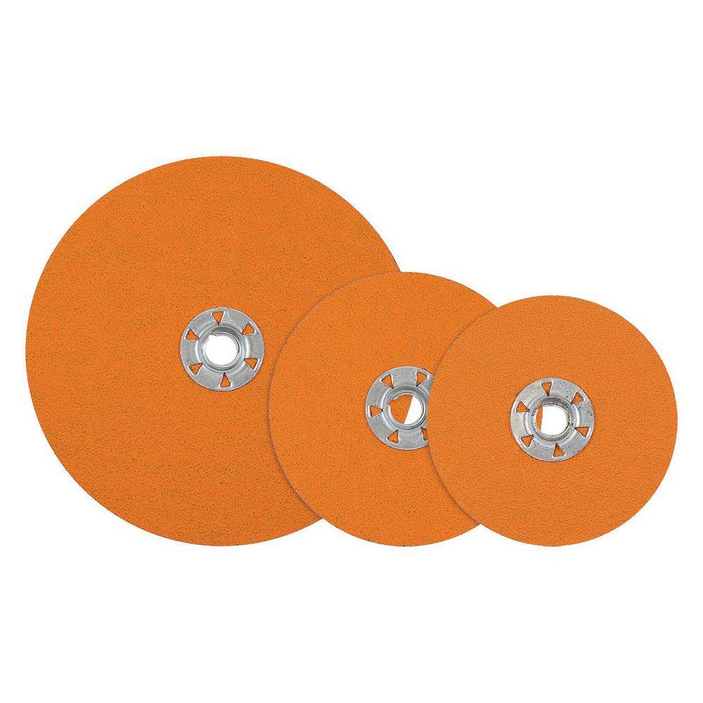 COOLCUT XX 4.5 in. x 5/8-11 in. Arbor GR50, Sanding Discs, Quick Change (Pack of 25)
