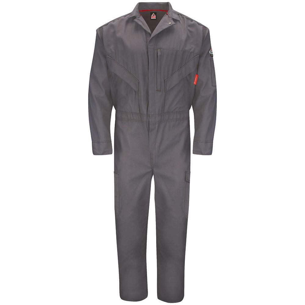 iQ Endurance Men's Size 50 (Tall) Grey Premium Coverall