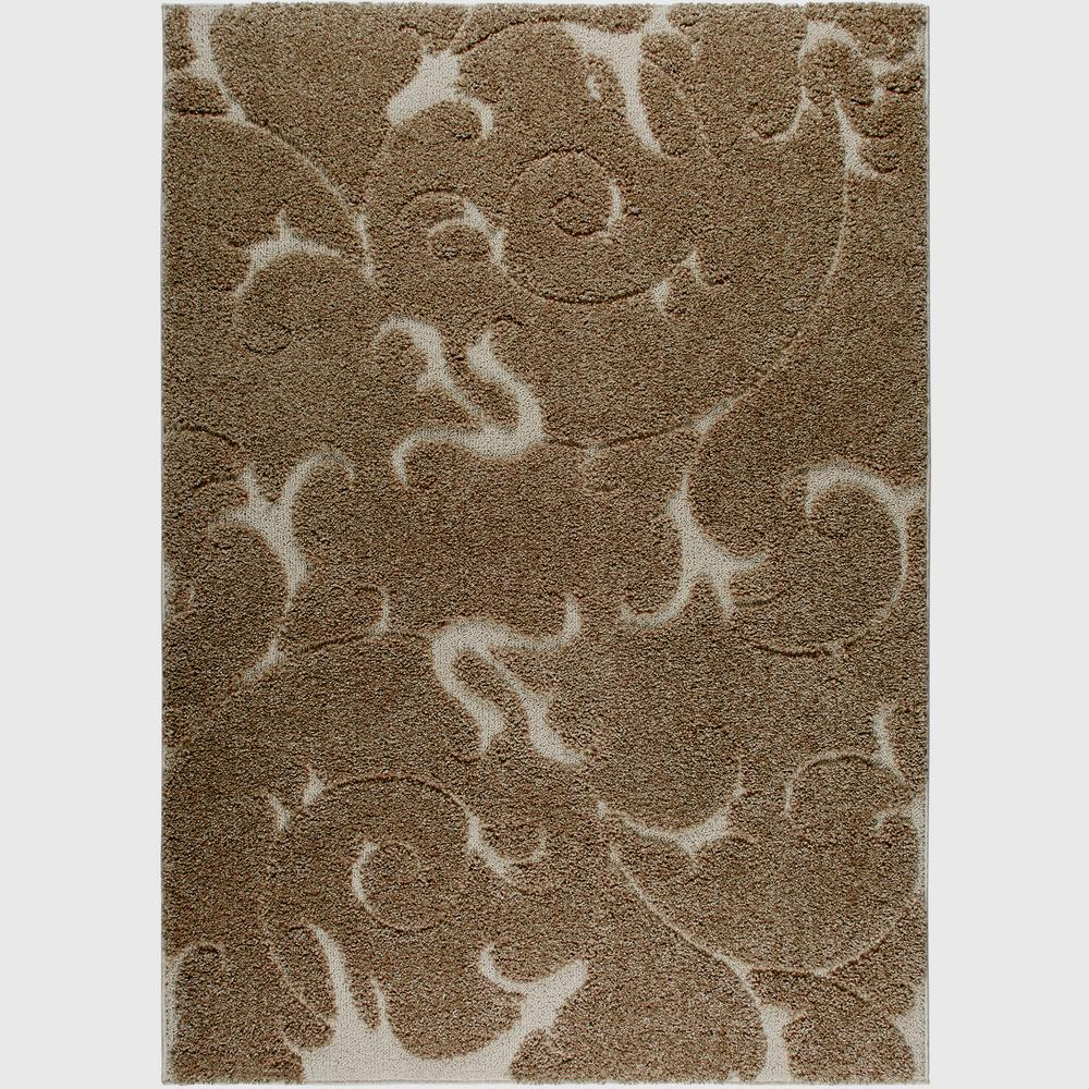 Home Dynamix Canyon Beige 5 Ft X 7 Ft Indoor Area Rug 2 Hd687 150