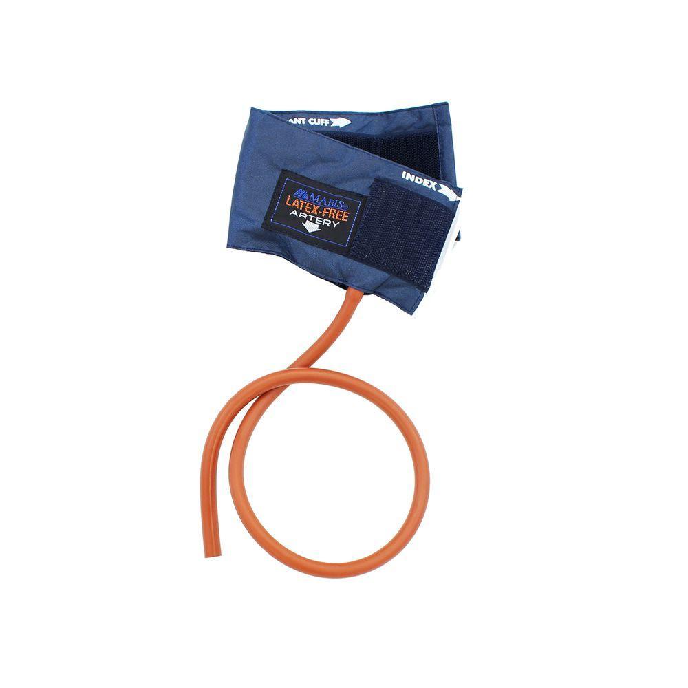 Latex Free 1 Tube Nylon Cuff and Bladder in Blue - Infant
