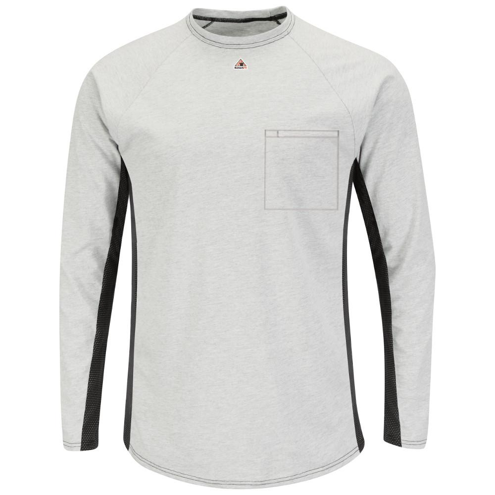 EXCEL FR Men's 2X-Large Grey Long Sleeve FR Two-T1 Base Layer