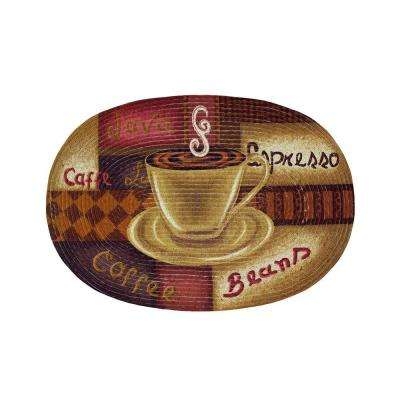 Coffee Java 2 ft. x 3 ft. Braided Rug