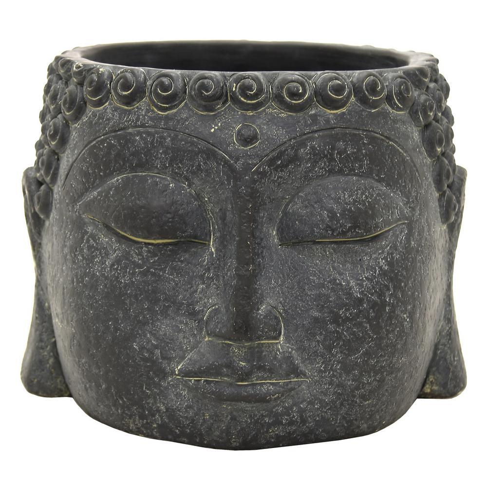 6.75 in. Buddha Face Flower Pot