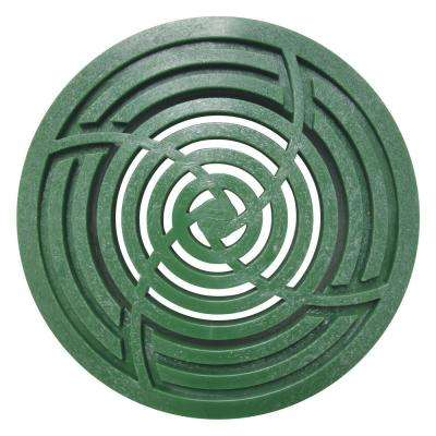 6 in. Round Green Grate