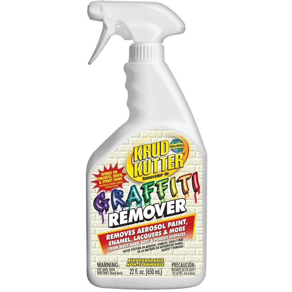 Krud Kutter 22 Oz Graffiti Remover Gr226 The Home Depot