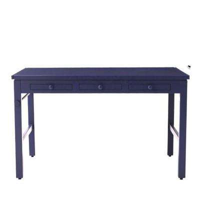 Kids 43 in. W Azurite Craft Table with Paper Roll