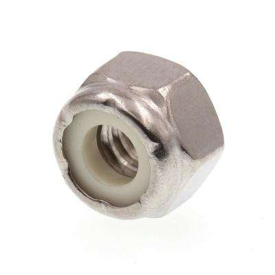 1/4 in.-20 Grade 18-8 Stainless Steel Nylon Insert Lock Nuts (50-Pack)