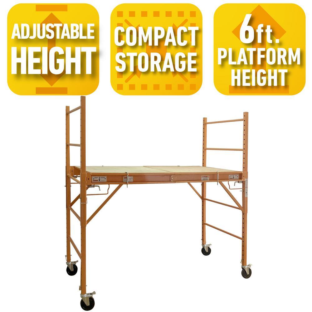 Deals on Pro-Series 3-in-1 Jobsite Work Desk, 6-ft 750lbs