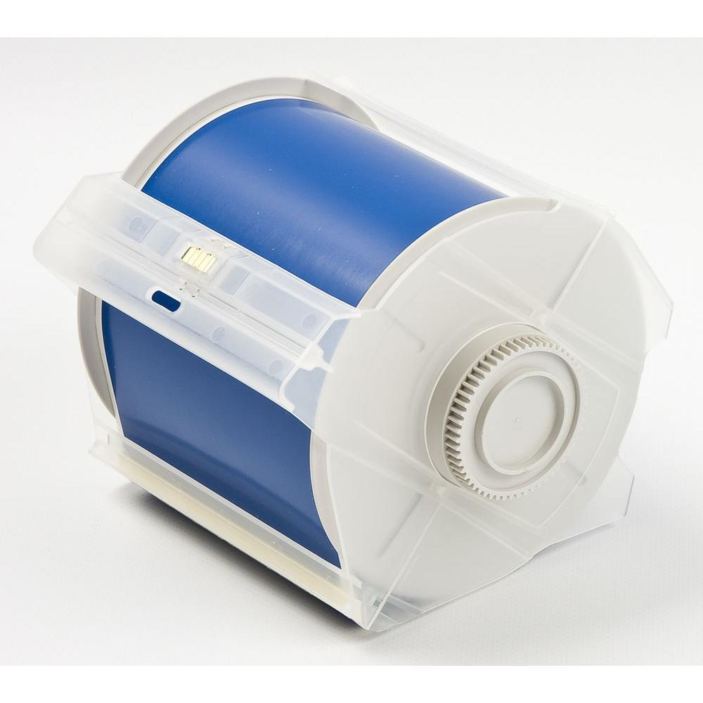 Brady B569 Globalmark 4 In X 100 Ft Polyester Blue Tape