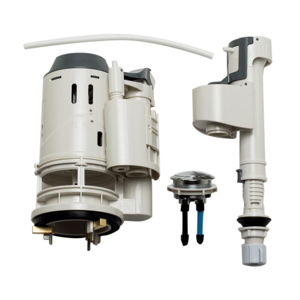 EAGO Flushing Mechanism for TB309 in White from Toilet Flappers & Tank Balls