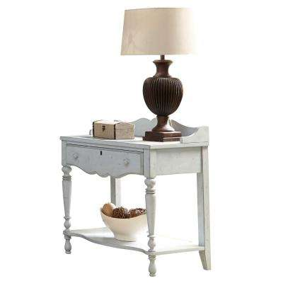 Newport 1-Drawer Monaco Blue Night Table