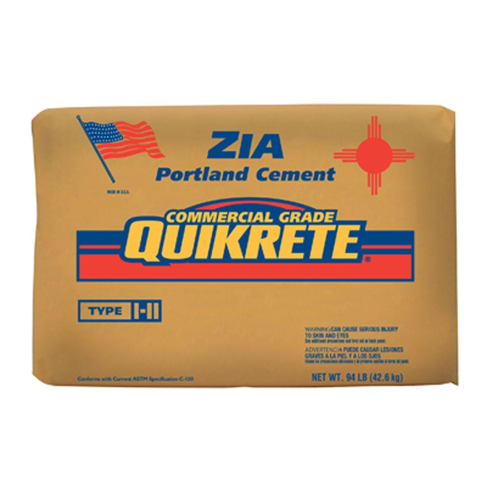 94 Lbs Bag Of Cement : Quikrete lb hydraulic water stop cement the