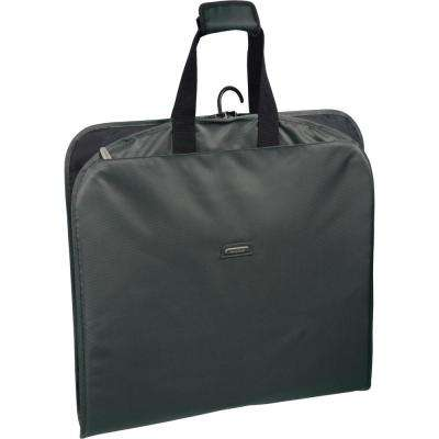 45 in. Grey Suit Length Carry-On Slim Garment Bag with Multiple Pockets