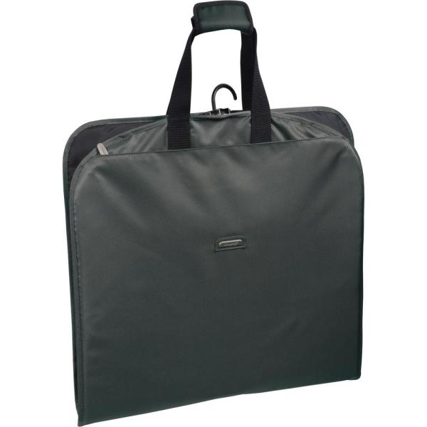 WallyBags 45 in. Grey Suit Length Carry-On Slim Garment Bag with