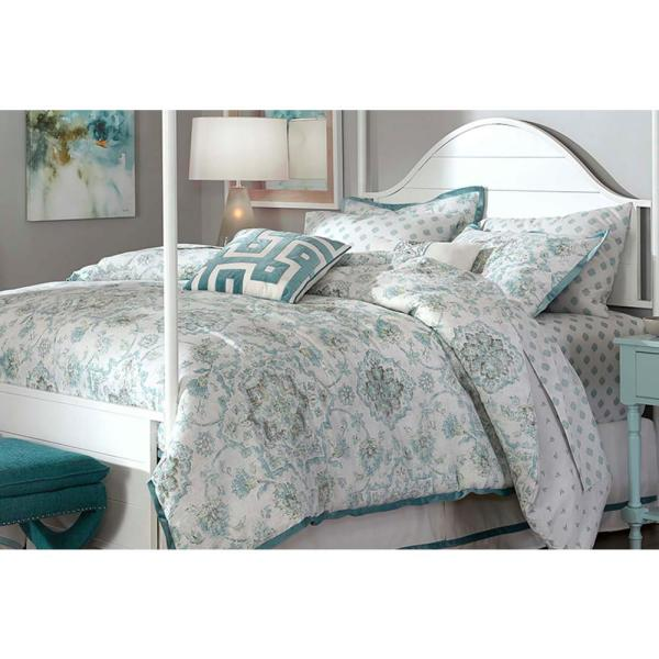 Calford Floral Medallion 10-Piece King Bedding Set