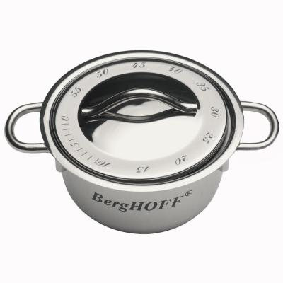Stainless Steel 18/10 Mini-Pot Kitchen Timer