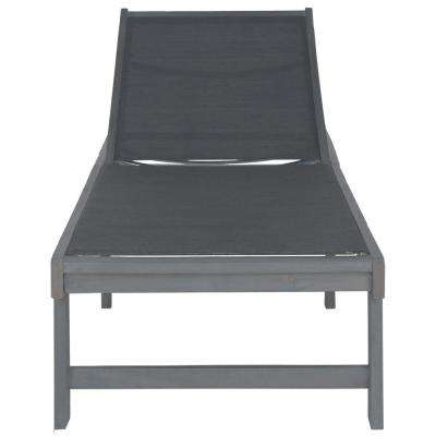 Manteca Ash Grey Outdoor Patio Lounge Chair
