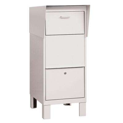 4900 Series Courier Box in White