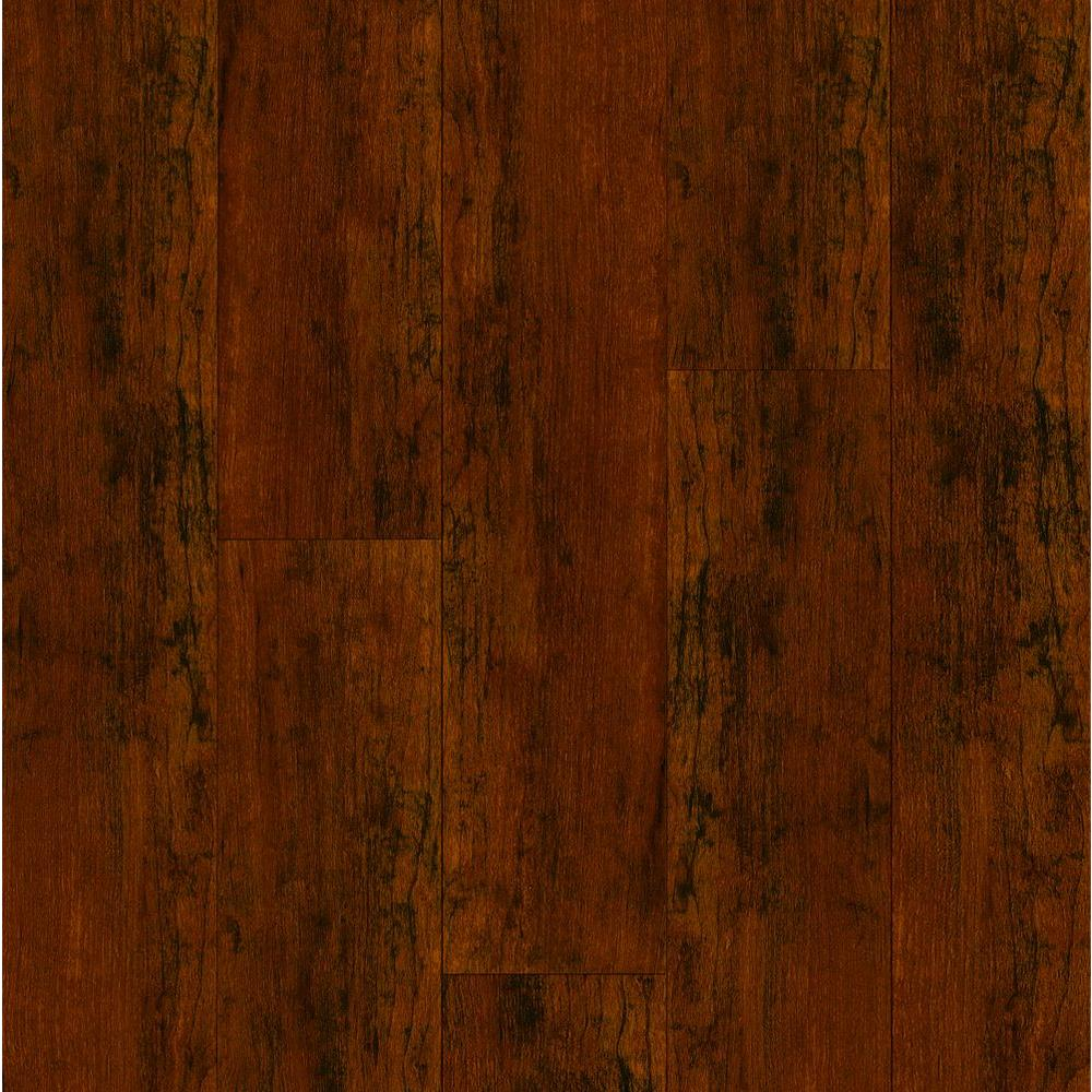 Bruce Cherry Sienna 12 mm Thick x 4.92 in. Wide x 47.76 in. Length Laminate Flooring (13.09 sq. ft. / case)