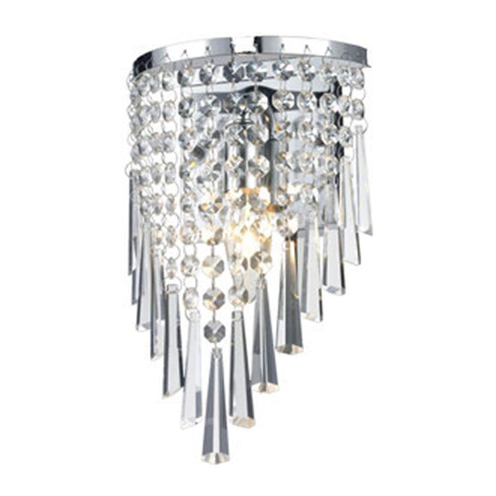 Filament Design Lawrence 1-Light Chrome Incandescent Sconce