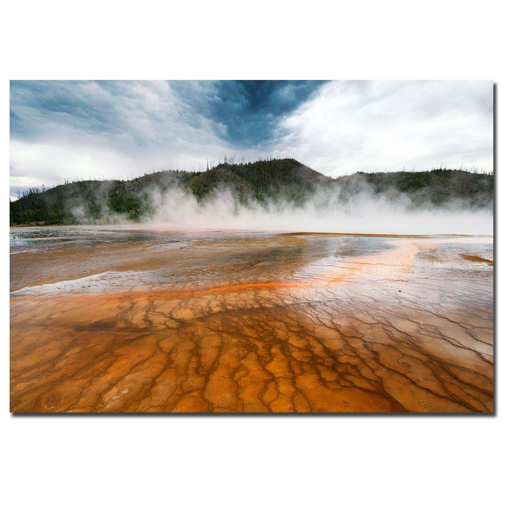 Trademark Fine Art 22 in. x 32 in. World of Fire Canvas Art-DISCONTINUED