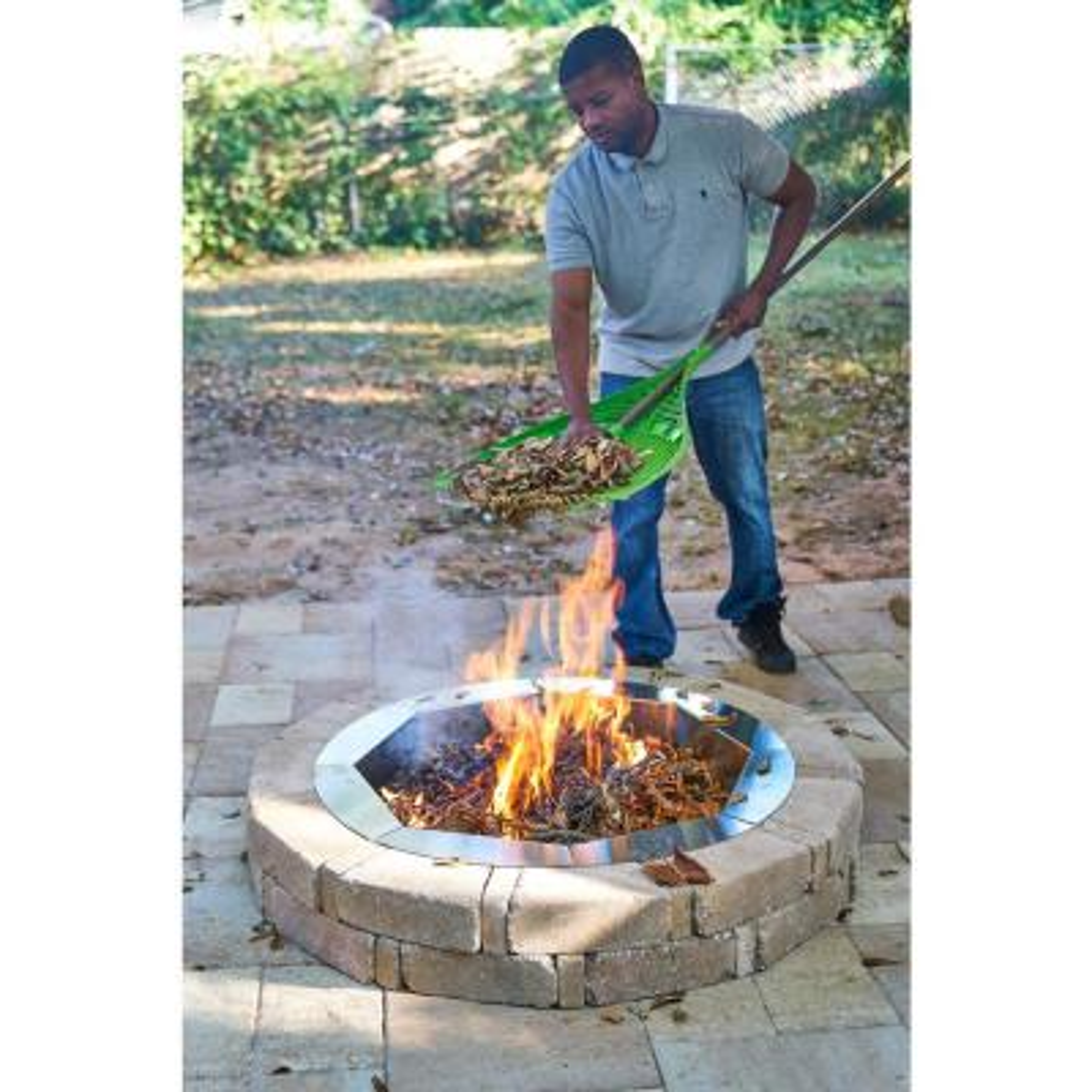 Pavestone Fire Pit Kits Hardscapes The Home Depot